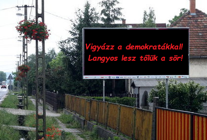 Plakát-demokrácia