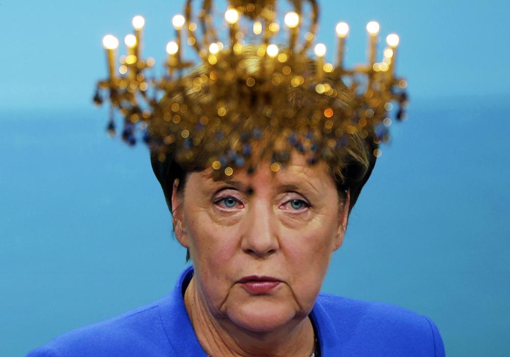 Merkelt megszállták az UFO-k?
