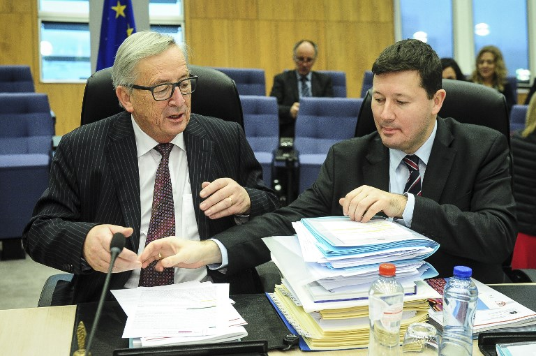 Meeting of the EU Commissioners on Poland